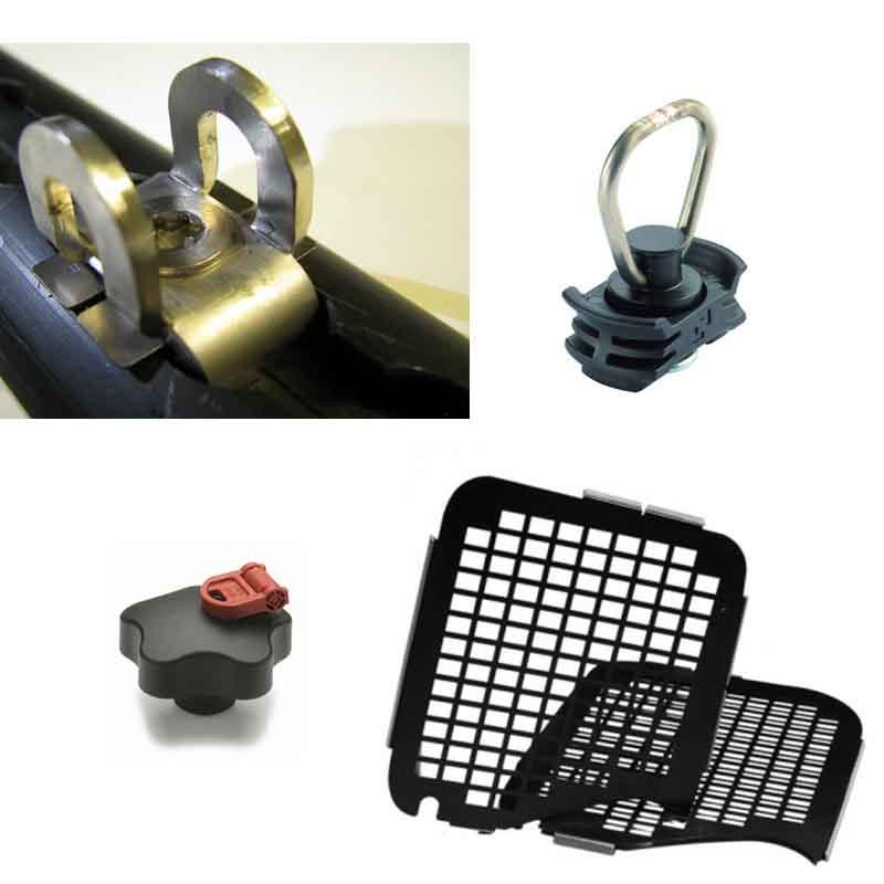 Diebstahlsicherung in Nutzfahrzeugen mit Airlineschienen und Fensterschutzgittern